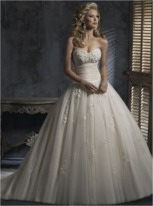 Maggie Sottero Chardonnay Sample for Sale