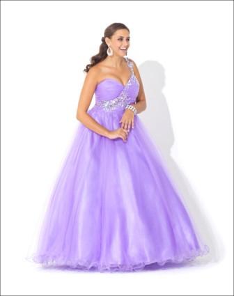 Blush Prom Style 5121 Violet Size 6 $400 on sale $250
