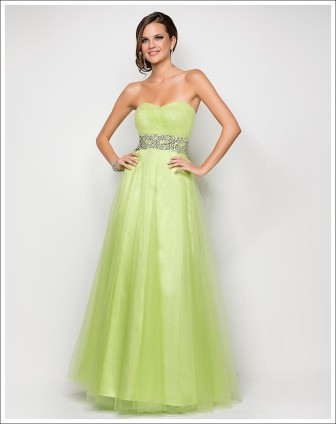 Blush Prom Style 9590 Lime Size 10 $409 on sale $250